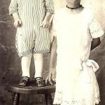 Lewis Age 4, Ruby Lee Age 14